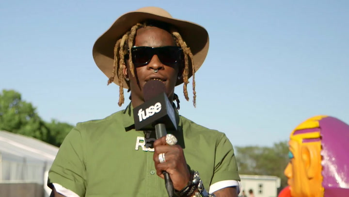 Lollapalooza 2015: Young Thug Talks Debut Album