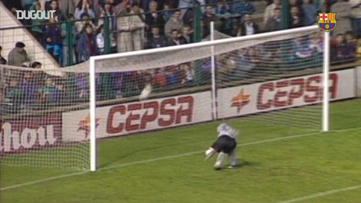 Romario's best goal against Osasuna at El Sadar