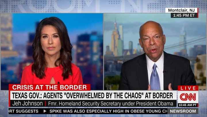 Jeh Johnson: We Must 'Get Control' of Border, '200,000 a Month Is a Lot' - Showing Deportations 'Can Make a Difference'