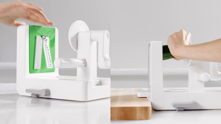 Preview image of OXO Tabletop Spiralizer video