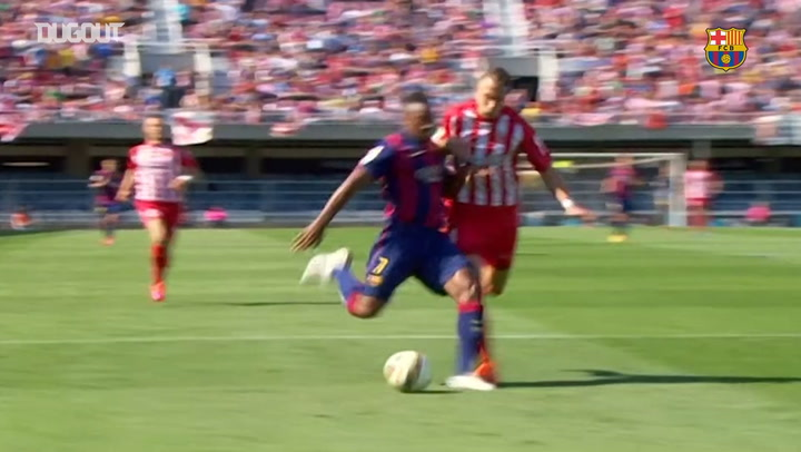 The best of Adama Traoré at Barça