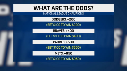 What are the odds for the Mets to make it to the 2021 World Series?