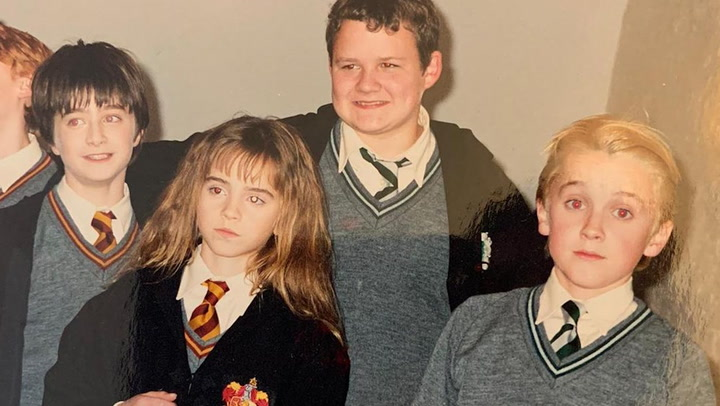 ¡Qué jóvenes! El recuerdo de \'Harry Potter\' que ha rescatado Tom Felton