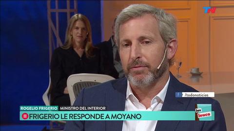 Frigerio dijo que la de Moyano es la marcha del retroceso