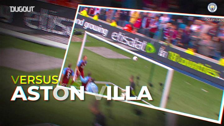 Man City's best goals at home to Aston Villa