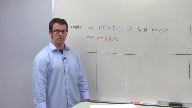 The Transformation y = f(bx) - Problem 1