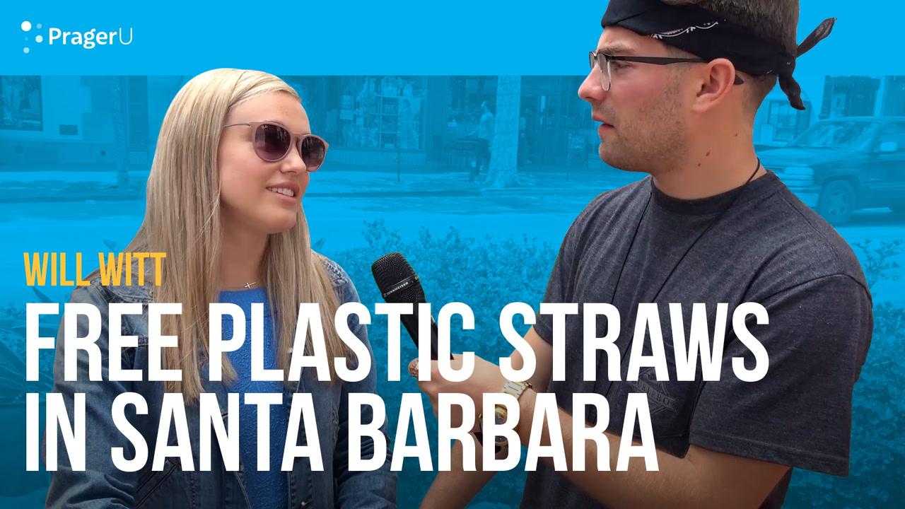 Free Plastic Straws in Santa Barbara