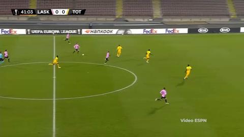 LASK Linz 3-3 Tottenham (Europa League)