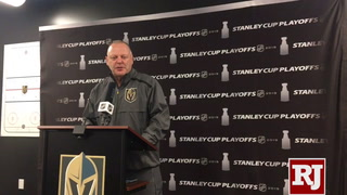 Gerard Gallant talks ahead of Game 6