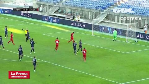 Sevilla 2-2 PSG (Amistoso internacional)