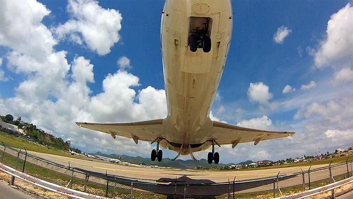 Pilotens stunt vekker oppsikt