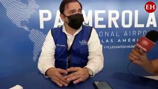 Peter Fleming reconoce que al 15 de octubre no habrá vuelos en Palmerola