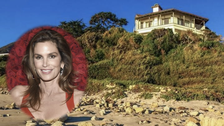 Supermodel Cindy Crawford Unloads Her Super Malibu Beach Pad