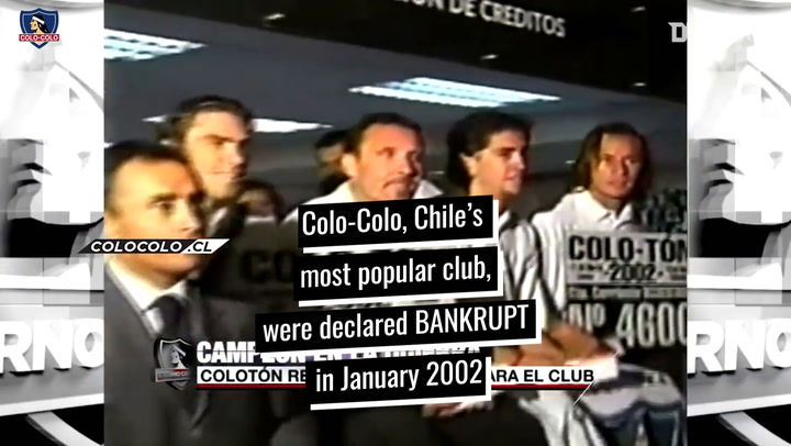 Colo-Colo's most emotional title