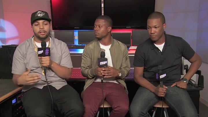 The 'Straight Outta Compton' Cast Feel the Compton Love