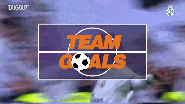 Team Goals: Vinicius Jr Vs Leganés