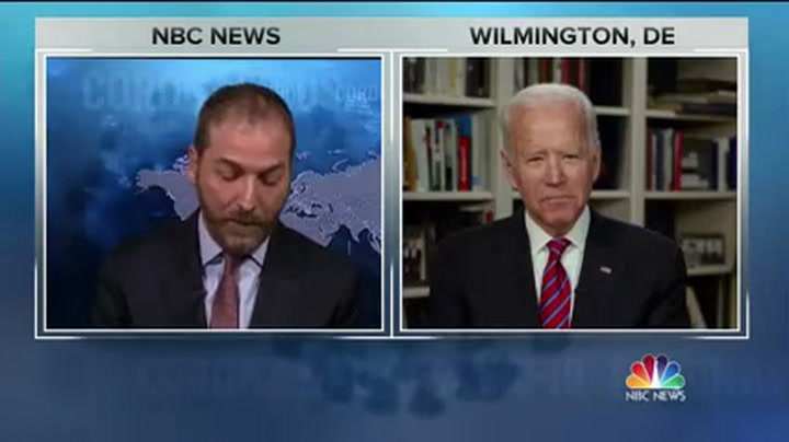 Biden: Trump Needs to 'Stop Thinking Out Loud' Start Thinking Deeply