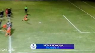 Victor Moncada empata el juego para los Lobos, 2-2 ante Motagua