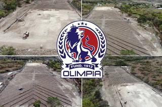 Así avanza la construcción de la nueva sede de Olimpia