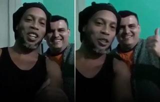 Ronaldinho sorprende con un video desde la cárcel: ''Hola a todos''