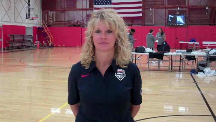 Sherri Coale On 2013 Usa Womens World University Games Team