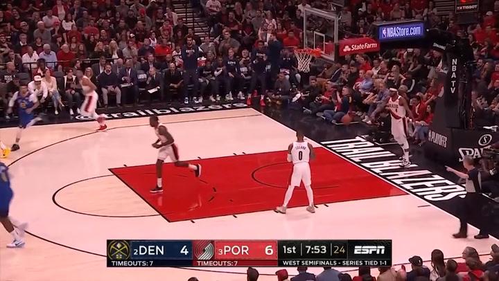 Nikola Jokic, mejor jugador de la jornada de playoff de la NBA el 4 de mayo de 2019
