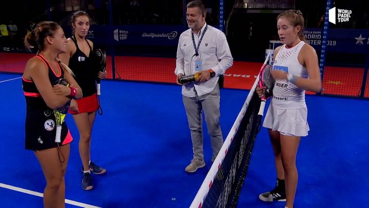 Resumen Cuartos de Final Femeninos (Primer turno) del Estrella Damm Madrid Master