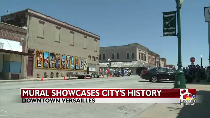 Versailles unveils mural to honor city's history and future