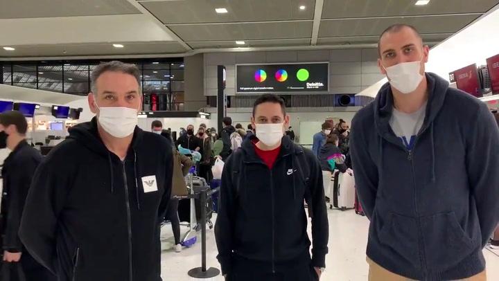 Pablo Aguilar y Luis Guil, agradecidos a Iberia y al consulado japonés