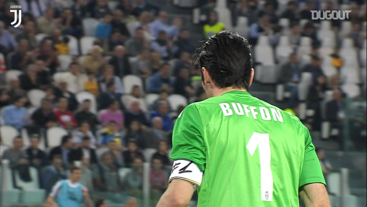 Gigi Buffon's brilliant save vs Livorno