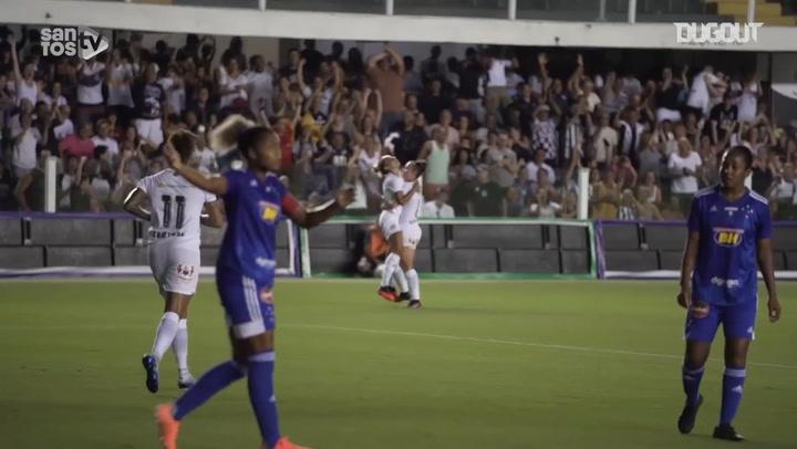 Santos claim 2-0 victory over Cruzeiro