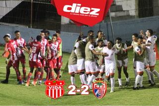 Real Sociedad rescata un punto sobre la hora ante el CDS Vida, que sigue sin ganar en el Clausura-2021