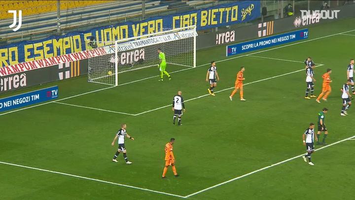 Juventus score four past Parma