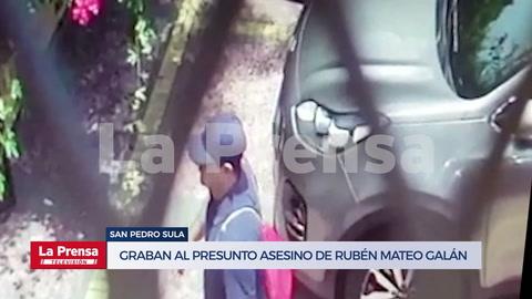 Este es el video donde quedó grabado el supuesto asesino del abogado Mateo Galán