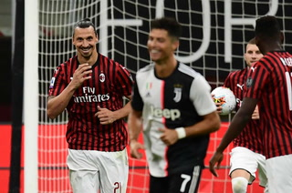¡Espectacular remontada! Ibrahimovic le gana el duelo a Cristiano Ronaldo en el Milan-Juventus