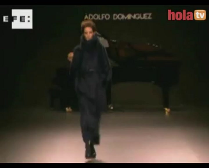 Adolfo dom nguez cibeles madrid fashion week oto o for Adolfo dominguez oficinas madrid