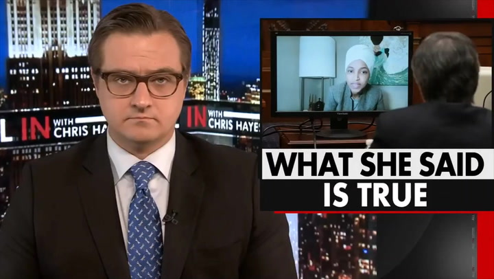 MSNBC's Hayes: If You Don't Like U.S. Being Grouped with Terrorists, You Should Be Mad at American Actions, Not Omar