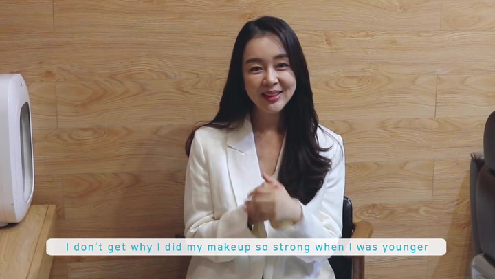 [Hello Dramabeans] Baek Bo-ram shares how she stays fit and her ritual to keep herself happy