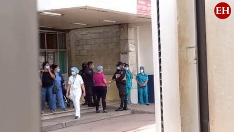 Trasladan al Hospital Escuela a heridos durante reyerta en La Tolva