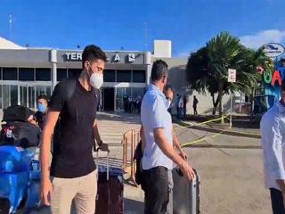 El defensor argentino, Franco Flores, llegó a San Pedro Sula para unirse al Real España