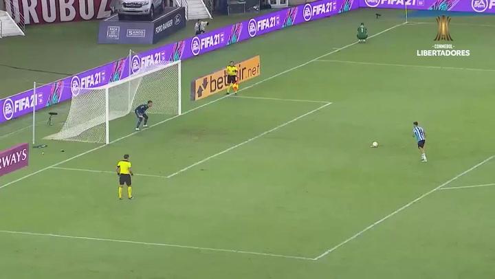 Copa Libertadores: La tanda de penaltis que clasificó a Racing
