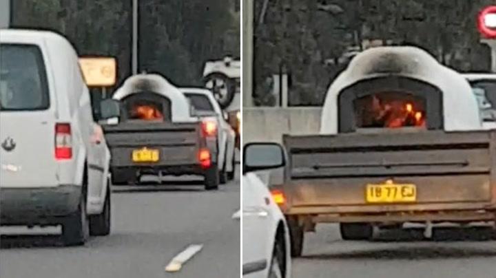 Bilist får sjokk av lasten på tilhengeren