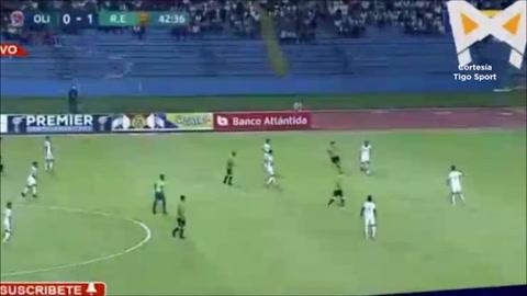Gol de Delis Vargas al Olimpia (Final Copa Premier Centroamericana)