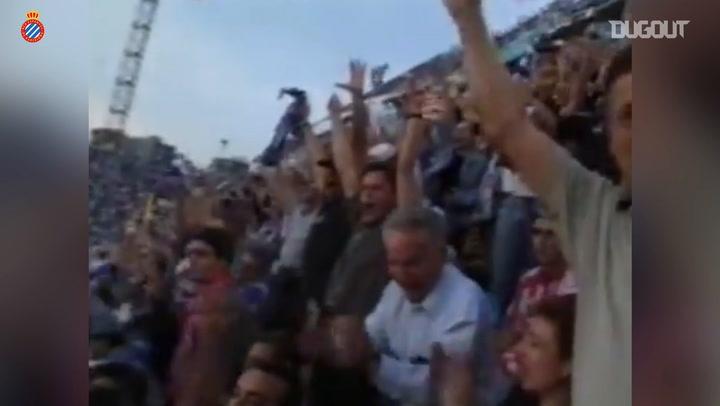 Raúl Tamudo's savvy goal in the 2000 Copa del Rey Final