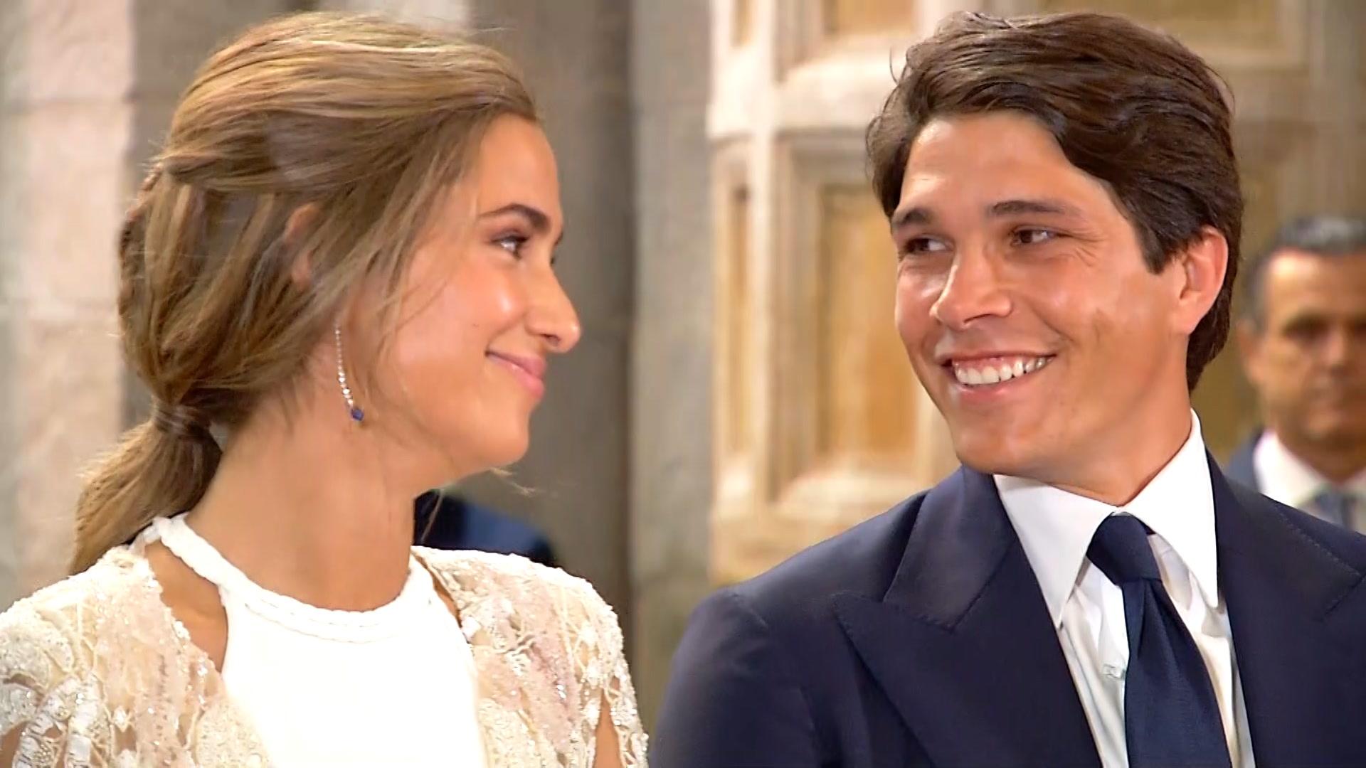 La boda de María Pombo y Pablo Castellano