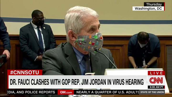 Fauci: Wearing a Masks After Vaccination Is So You Don't Spread Coronavirus to Others