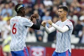Cristiano Ronaldo marcó su tercer gol con el Manchester United en la Premier League