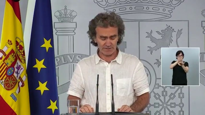 Fernando Simón da la información del coronavirus en España