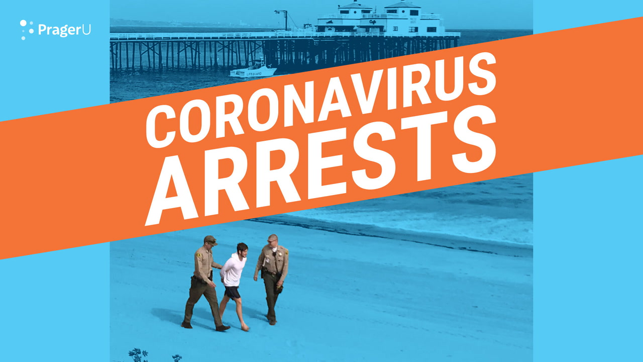 Coronavirus: Social Distancing Arrests