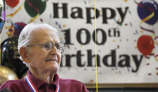 Former Military Police Corps Officer Celebrates 100th Birthday